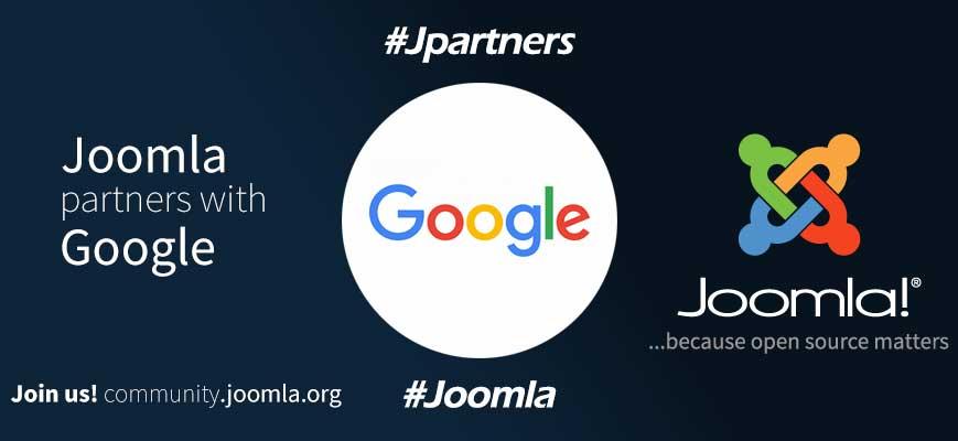 Ανακοίνωση χορηγίας Google και Joomla...